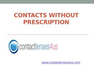 Buy Contact Lense Without Prescription.pptx