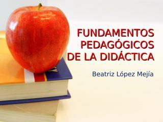 Fundamentos Pedagógicos.pps