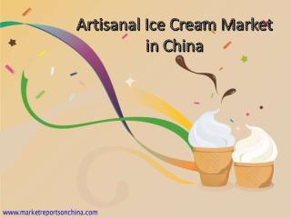 Artisanal Ice Cream Market in China.PDF