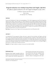 Pengaruh mekanisme sesar terhadap Gempa Bumi Aceh Tengah, 2 Juli 2013 (Paper).pdf