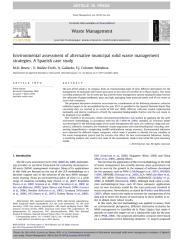 Environmental assessment of alternative municipal solid waste management.pdf