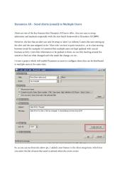 Dynamics AX - Alerts to Multiple Users.pdf