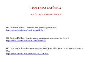 Doutrina Católica - Série - Atualização 9.pdf