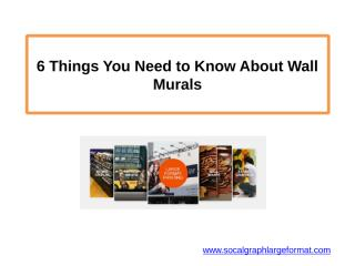 6 Things You Need to Know About Wall Murals.pptx