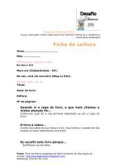 Ficha de Leitura - Desafio Literário.doc