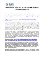 Global Ready-To-Drink Green Tea Sales Market 2018 Industry Trend and Forecast 2025.pdf