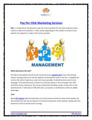 Pay Per Click Marketing Services.PDF