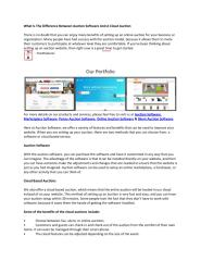 What Is The Difference Between Auction Software And A Cloud Auction.pdf