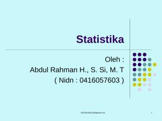 pengantar statistika.ppt