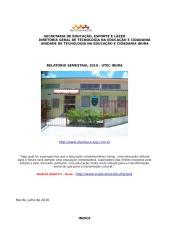 relatório semestral utec ibura 2010.doc