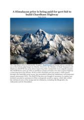 A Himalayan price is being paid for govt bid to build Chardham Highway .pdf