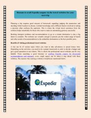 Reasons to avail Expedia coupon.pdf