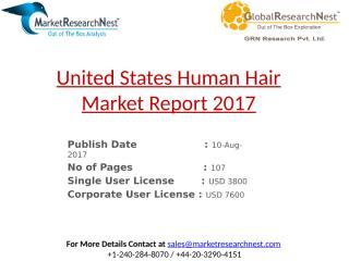 United States Human Hair Market Report 2017.pptx