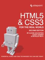 HTML5 & CSS3 For The Real World, 2nd Edition.pdf