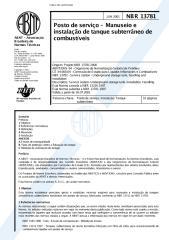 nbr 13781 - 2001 - posto de servico - manuseio e instalacao de tanque subterraneo de combustiveis.pdf