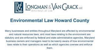 Environmental Law Howard County.pdf