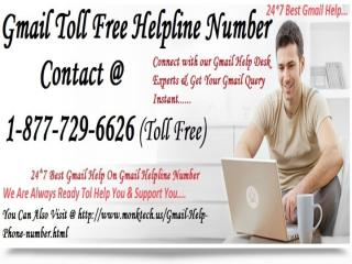 #Gmail #Toll-Free #Help #Number 1~877~729~(6626).pptx