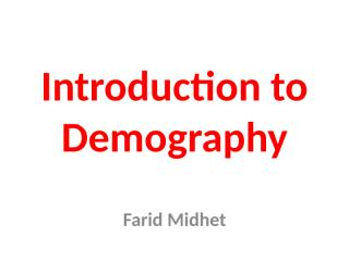 Introduction to Demography.ppt