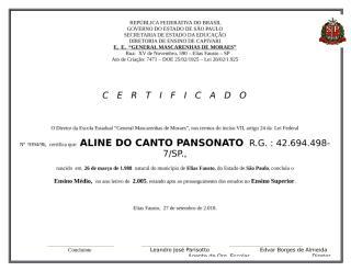 Certificado Ensino Médio - modelo com brasão 3A 01 2.005 - Aline do Canto Pansonato.docx