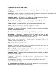 Glossary of Terms for Fiber Optics.doc