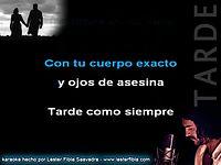 Karaoke Ricardo Arjona - Tarde (en vivo) (Low).mp4