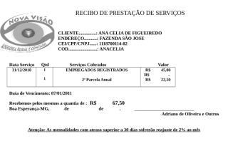 RECIBO DE PRESTAÇÃO DE SERVIÇOS 12-2010.docx